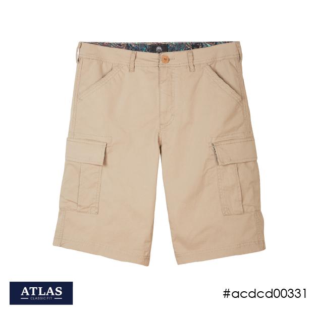 Mens Cargo Shorts - Fawn