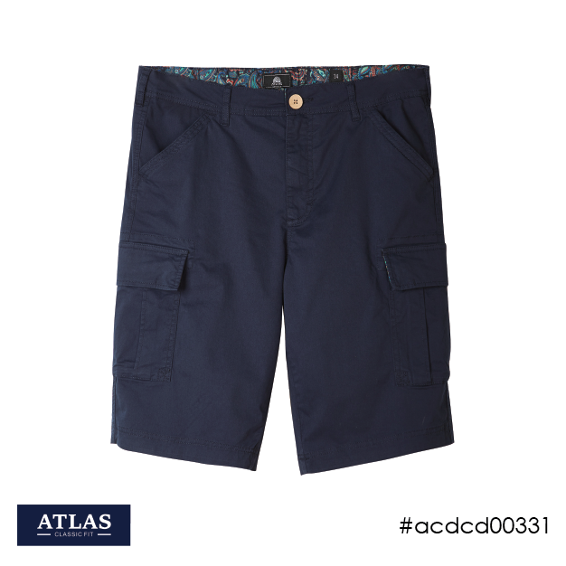 Mens Cargo Shorts - Navy