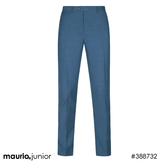Casual Suit Trousers - Blue