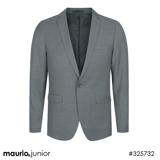Casual Suit Jacket - Charcoal