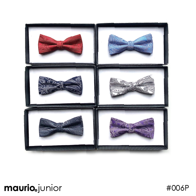 Boys Patterned Bow Ties
