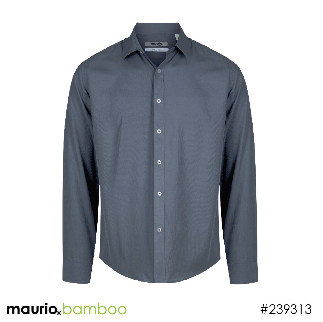 Dress shirt bamboo fabric - charcoal