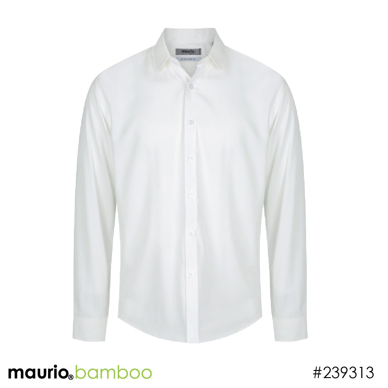 Dress shirt bamboo fabric - off white